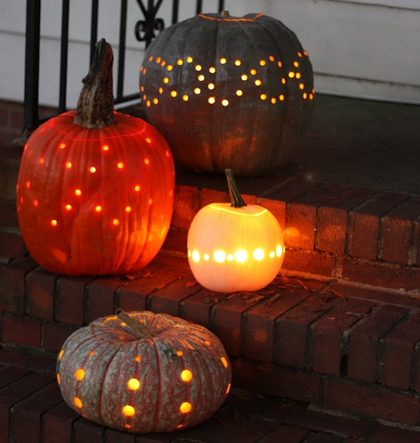 drilling pumpkins <3 {tutorial}