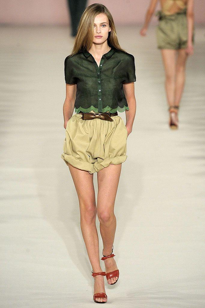 Leather Shorts Spring/summer Chlo UYcxg