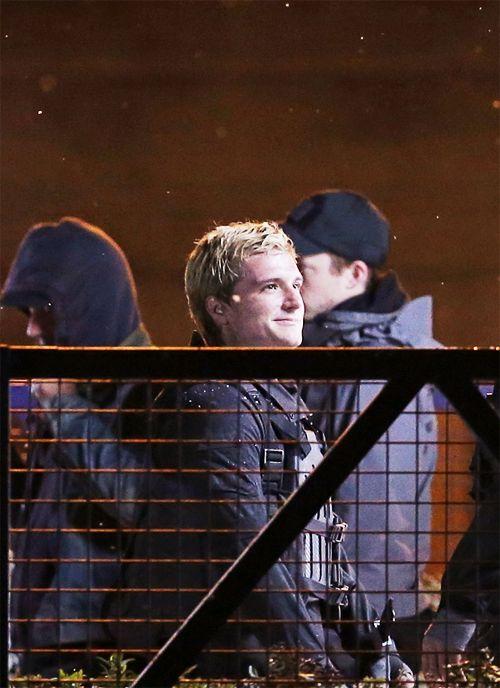 Josh Hutcherson on Mockingjay set in Paris. May 8th, 2014 ...