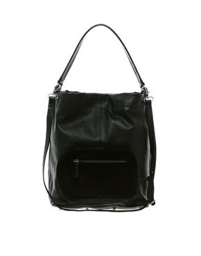 Pieces Karli Shop Leather Bag