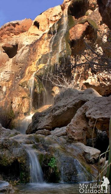 Sitting Bull Falls nears Carlsbad, NM