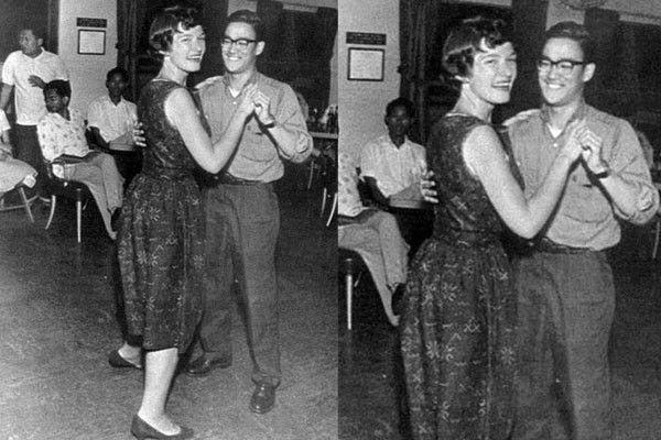 Bruce Lee bailando