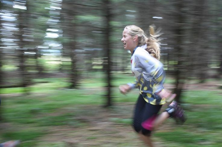 Stamina and action. Girl running in forest. From: https://www.facebook.com/media/set/?set=a.395423627247034.1073741832.362234483899282&type=1
