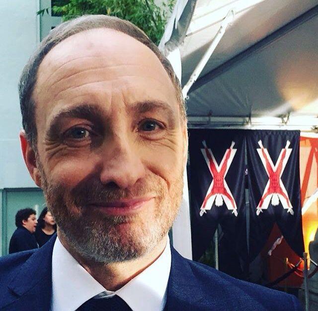 Game of Thrones: Michael McElhatton at the Game of Thrones 2016 season 6 premiere in LA. (photo via Alfie Allen's Instagram)