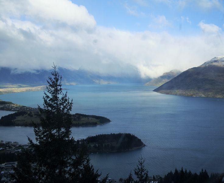 Gondola views over Queenstown, NZ