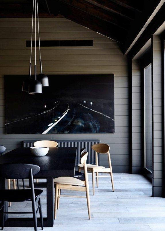 Современный дизайн в темных тонах в Австралии - Дизайн интерьеров   Идеи вашего дома   Lodgers