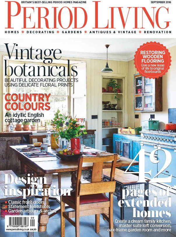 A Scaramanga home featured in PeriodLiving