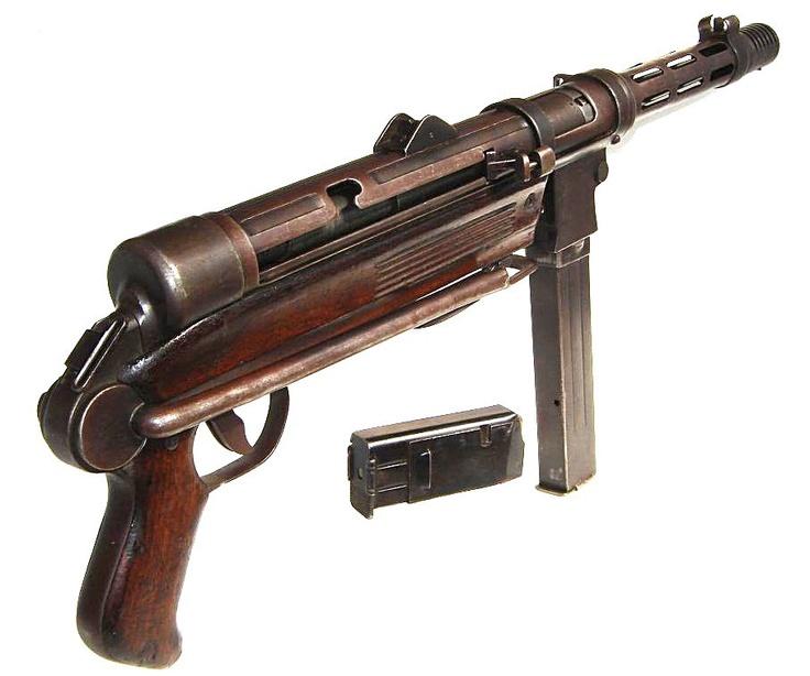 The Spanish Star Z45 submachine gun and short 10-round ...