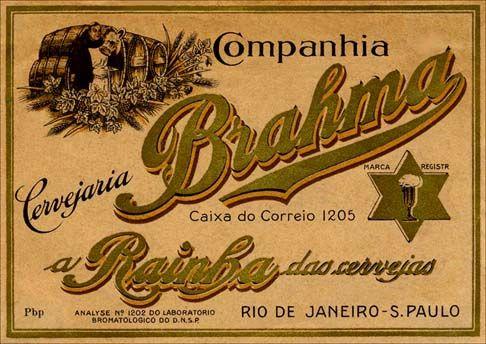 11969 - CERVEJA - BRAHMA - A Rainha das Cervejas - outro modelo -  - 41x29-.