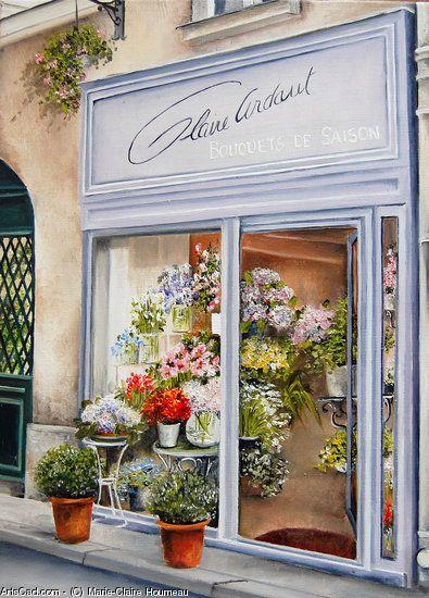Marie-Claire Houmeau  Fleuriste Paris ile de la Cité