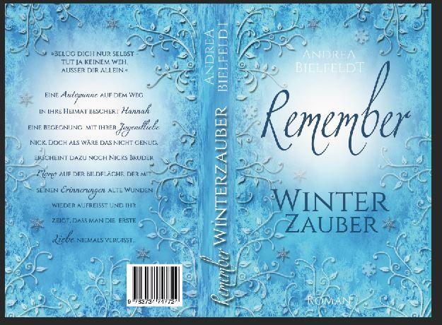 #Taschenbuch #Cover von REMEMBER Winterzauber #JahreszeitenReihe #AndreaBielfeldt