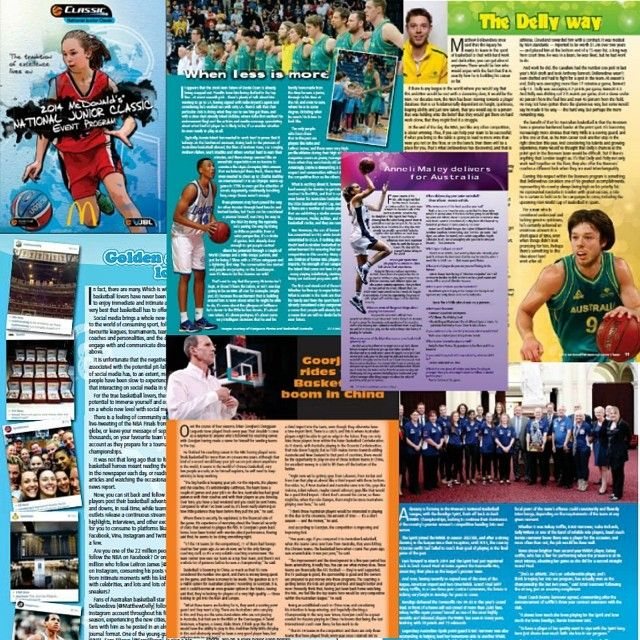 Did you, or someone you know play in the weekend's 2014 @McDonalds National Junior Classic #Basketball Tournament? You may have come across our work, as @Hook_Media wrote the copy for the entire program this year, including among other things, stories on @matthewdelly @Daanteee, @BendigoSpirit, Brian Goorjian, the rise of social media in sports and young guns Anneli Maley and Jack White. #VJBL
