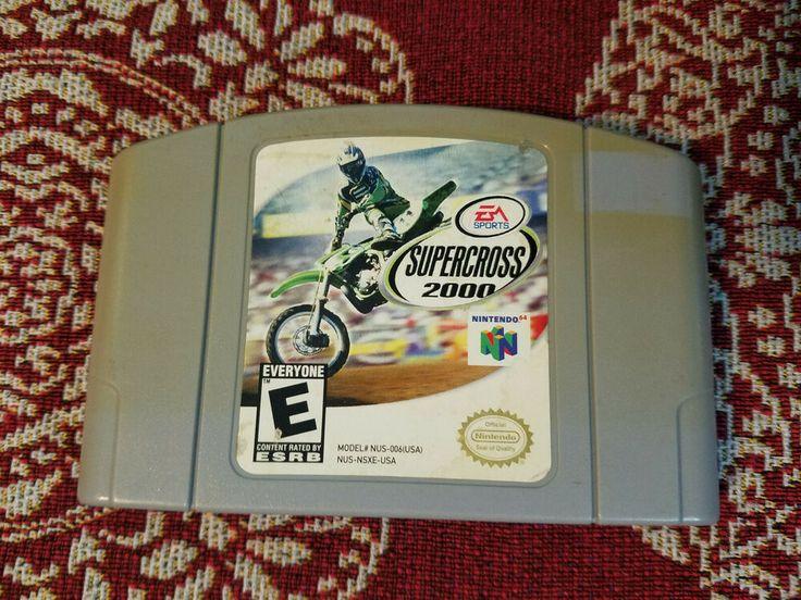 EA Sports Supercross 2000 (Nintendo 64, 1999) N64