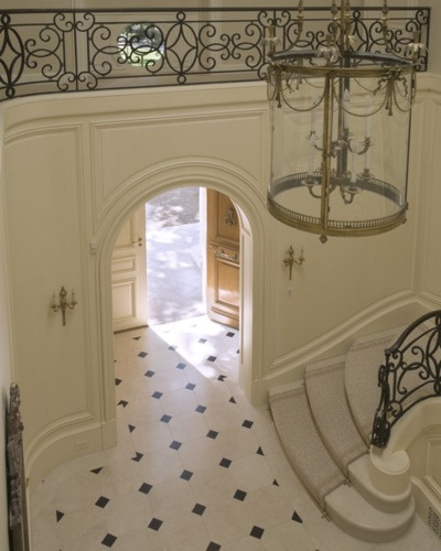 French Country Foyer ~ Andrew Skurman Architects