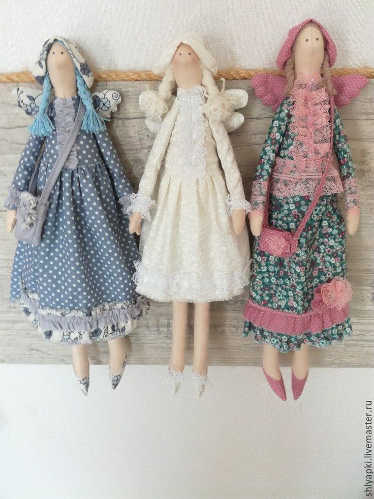 Купить Куколки - зеленый, куколки, тильда ангел, тильда фея, кукла Тильда, кукла в подарок