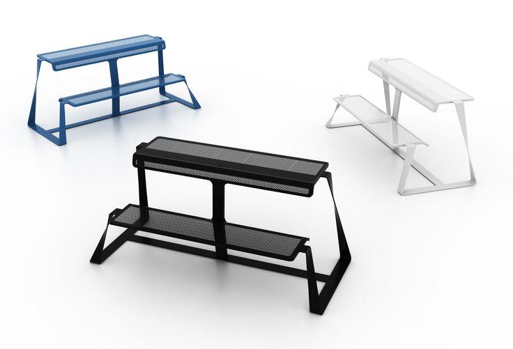 #tbench, design by B-bold #altreforme #officina, #interior #home #decor #homedecor #furniture #aluminium