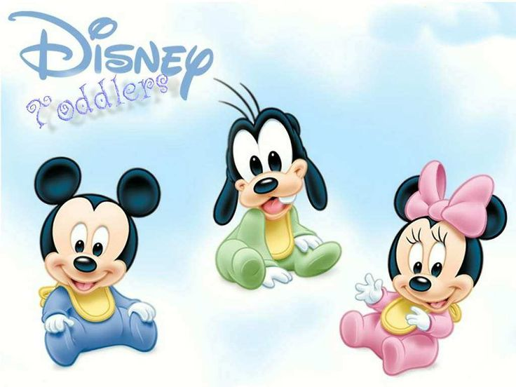 Baby Mickey and Minnie Mouse   Wallpapers Mickey And Minnie Mouse Baby Duck With Goofy Ariel Princess ...