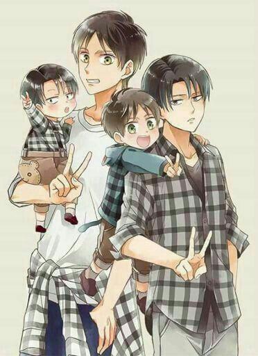 Levi & Eren's family