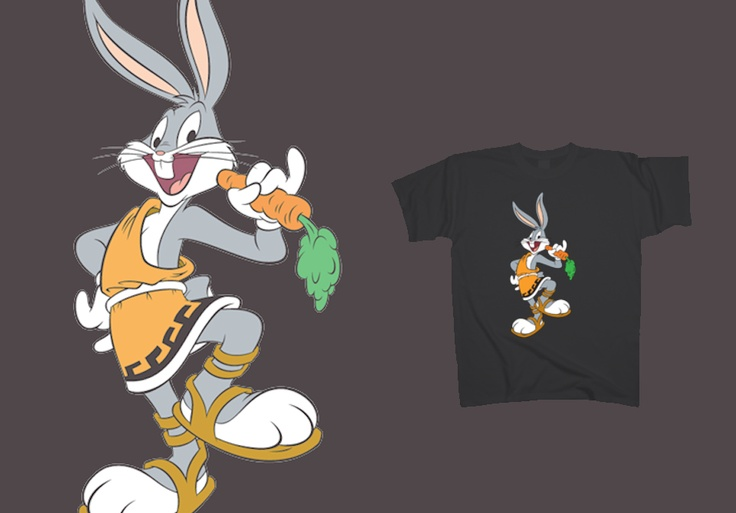 Bugs Bunny - Philosopher http://www.toonshirts.com/products/looney-tunes/53-bugs-bunny-greek