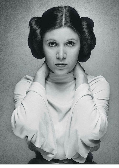 Carrie Fisher. She has been very open with her struggles with depression. An awesome and courageous lady.