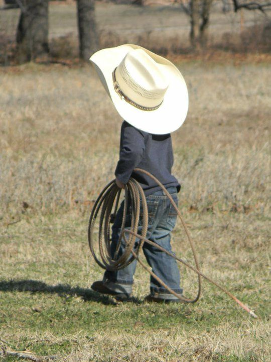 """""""Mamas don't let your babies grow up to be cowboys."""" Children kids country pic ideas"""