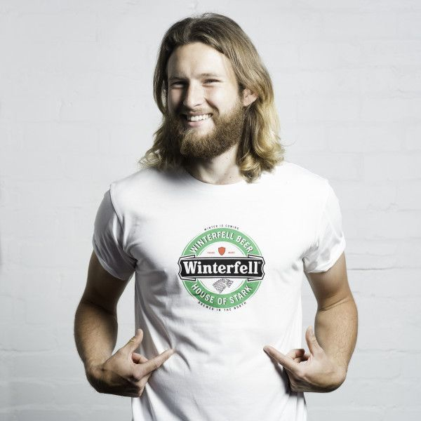 Winterfell beer Game of Thrones fan t-shirt