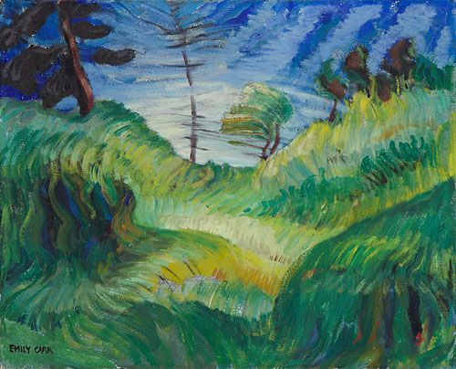 Untitled (Rhythm of Nature), c. 1937 - Emily Carr