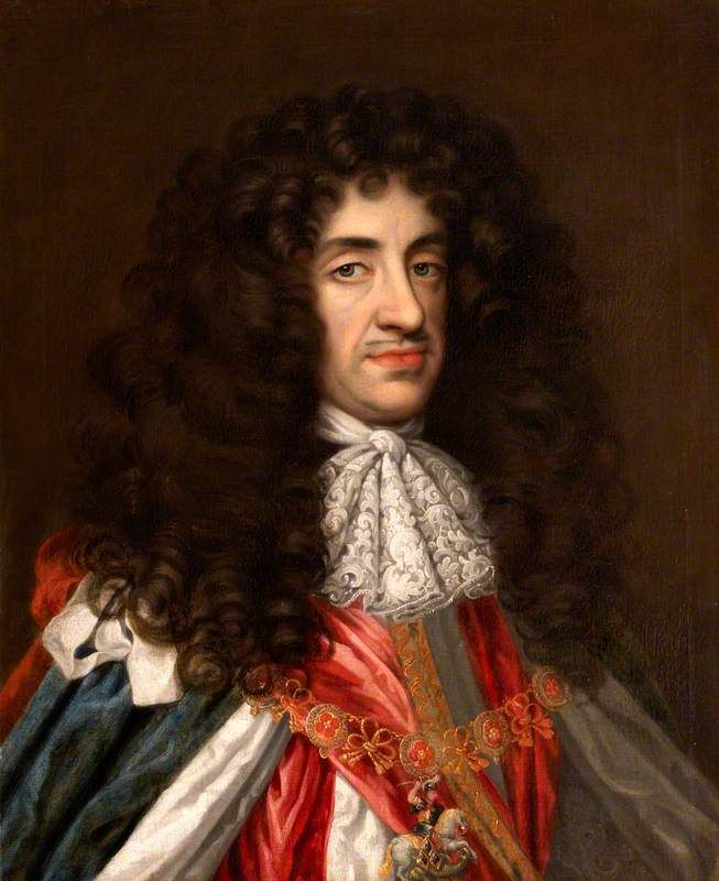 King Charles II of England by Henri Gascar, c. 1680-85