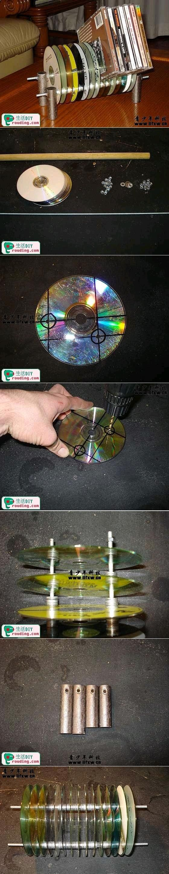 DIY CD Rack DIY CD Rack by diyforever