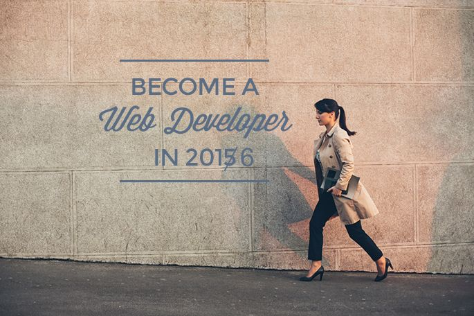 Become a great and busy web dev in 2016.