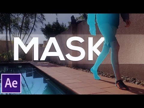 Text Behind Mask Effect | Adobe After Effects Tutorial - YouTube