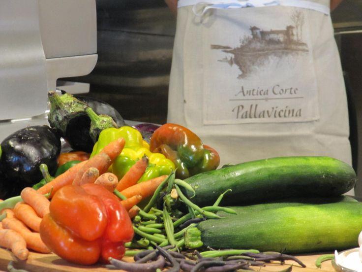 Antica Corte Pallavicina di Polesine Parmense (PR) #food #chef #kitchen #vegetables