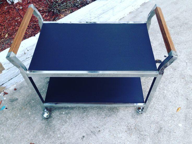 Chalkboard Bar Cart!