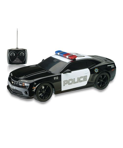 Look at this 1/32 Scale Police Camaro Remote Control Car on #zulily today!