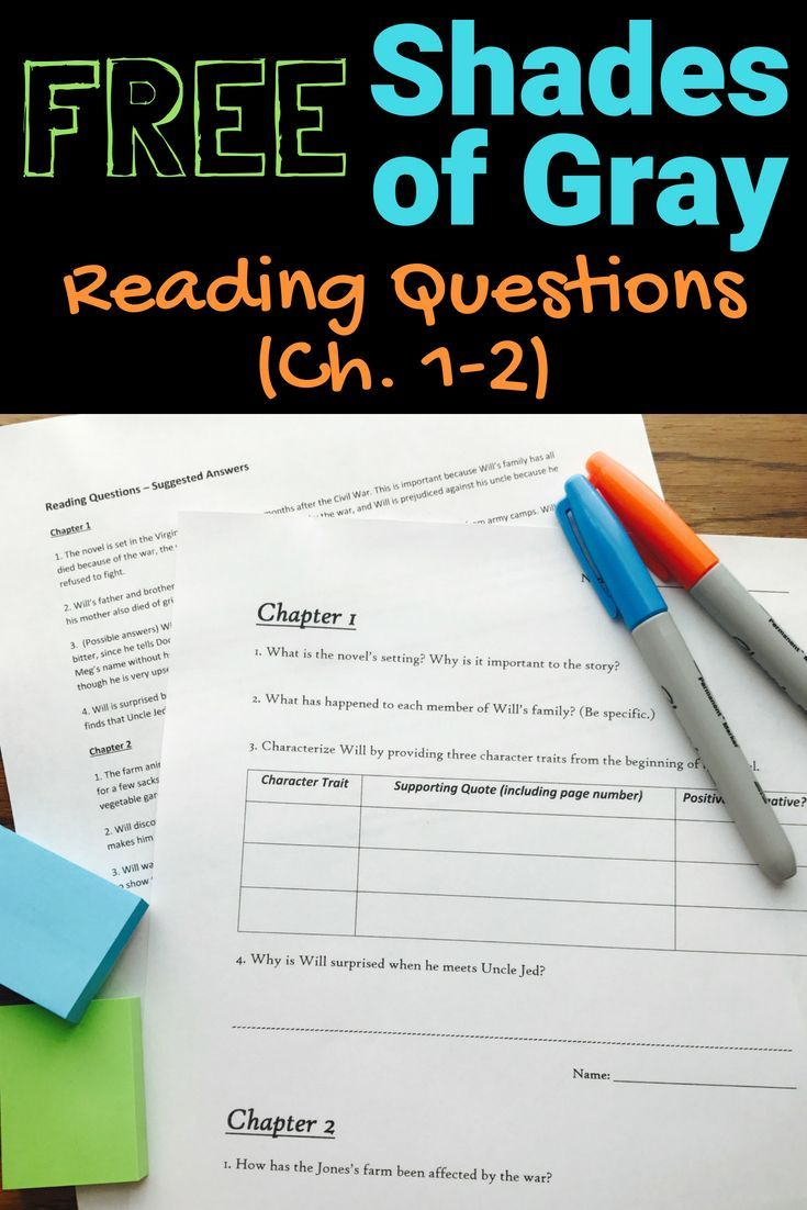 Shades Of Gray Reading Questions Ch 1 2 Digital Distance Learning Middle School Novel Studies Reading Comprehension Questions Middle School Novels [ 1102 x 735 Pixel ]