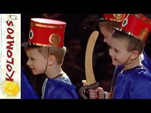 ▶ Kolompos együttes - Jönnek a huszárok (koncert részlet, népdal, néptánc) - YouTube