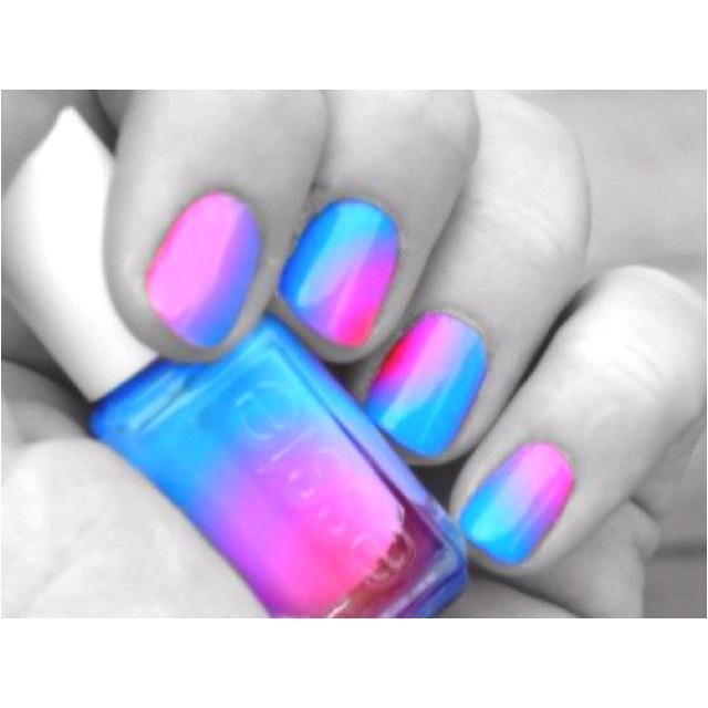 Cotton Candy Satin Fingernail Polish: Cotton Candy Nails.