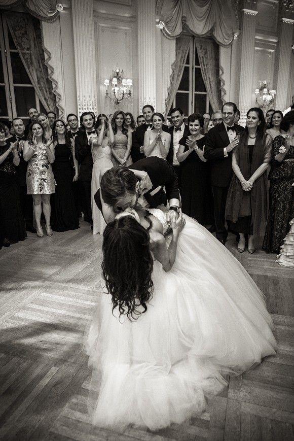 Romantic first dance wedding dip   www.christianOthStudio.com