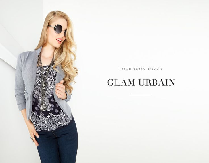 GLAM URBAIN // URBAN GLAMOUR #blazer #jacket #navy #blouse #floral #denim #pants #mode #glam #urban #streetstyle #bluejean #street #fashion #femme #women #lookbook #fw16