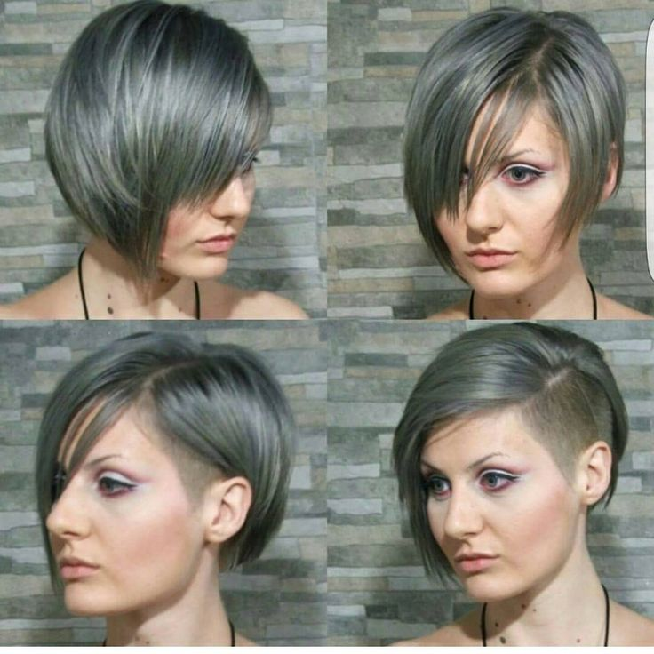 pixie cut short sides long top