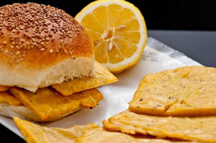 Pane e Panelle - Panelle (or panella di ceci) are Sicilian fritters made from gram flour and other ingredients. They are a popular street food in Palermo and are often eaten between slices of bread
