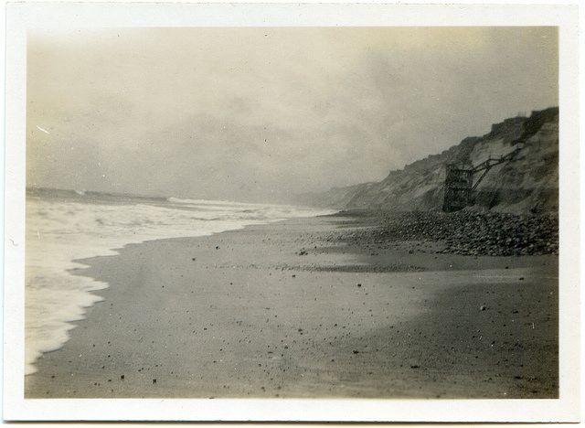 Gordon Hotel Steps, Southbourne #Dorset #sea #beach #Bournemouth #ocean #vintage #1931 #history