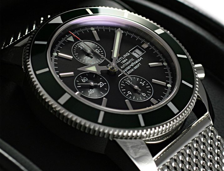 ブライトリングスーパーオーシャンへリテージクロノ グリーン A272BGROCA -ブライトリング時計コピー