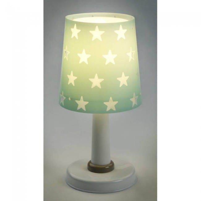 Stars Table Lamp By Dalber Spain It S Small Table Lamp Made Of Secure Plastic Just Include A Led Light Bulb Of E14 Scre Small Table Lamp Lamp Kids Desk Lamp