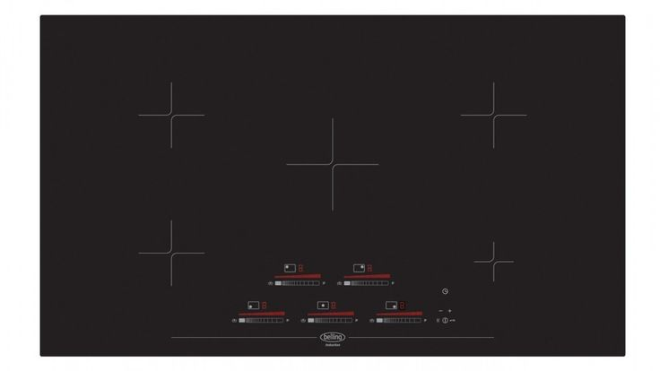 Belling 90cm Induction Touch Control Cooktop - Black