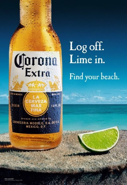 Corona Beer, if you drink this is pretty good but I haven't had one in a very long time, good with lime