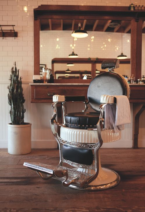 IN THE ISSUE Grooming Guide: A restored vintage chair at Baxter Finley.