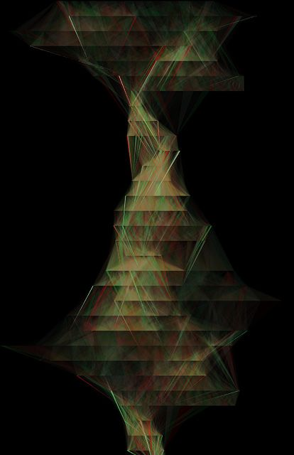 Shades. Various outputs from a custom c++/opengl software i'm working on (https://vimeo.com/73923211) These are sound spectrum visualisations.