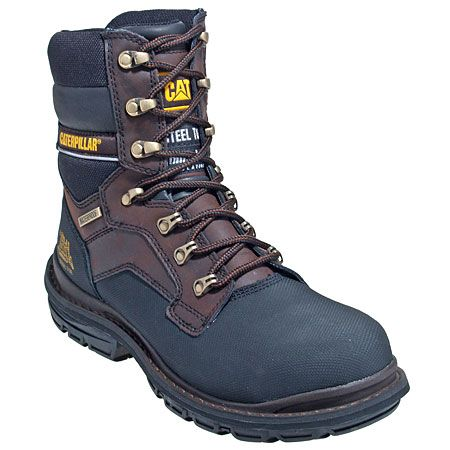 CAT 90014 Mens Steel Toe Waterproof EH Work Boots