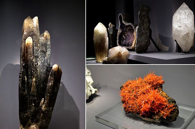 LES PETITS PLAISIRS DU QUOTIDIEN #2 Visite de la Galerie de Minéralogie du Muséum d'Histoire Naturelle